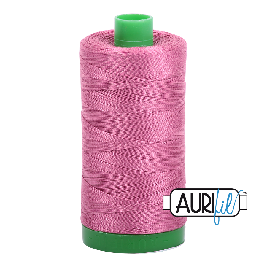 Col. #2452 Dusty Rose - Aurifil 40 Weight