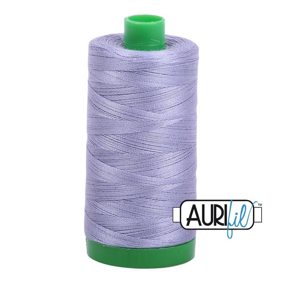 Col. #2524 Grey Violet - Aurifil 40 Weight
