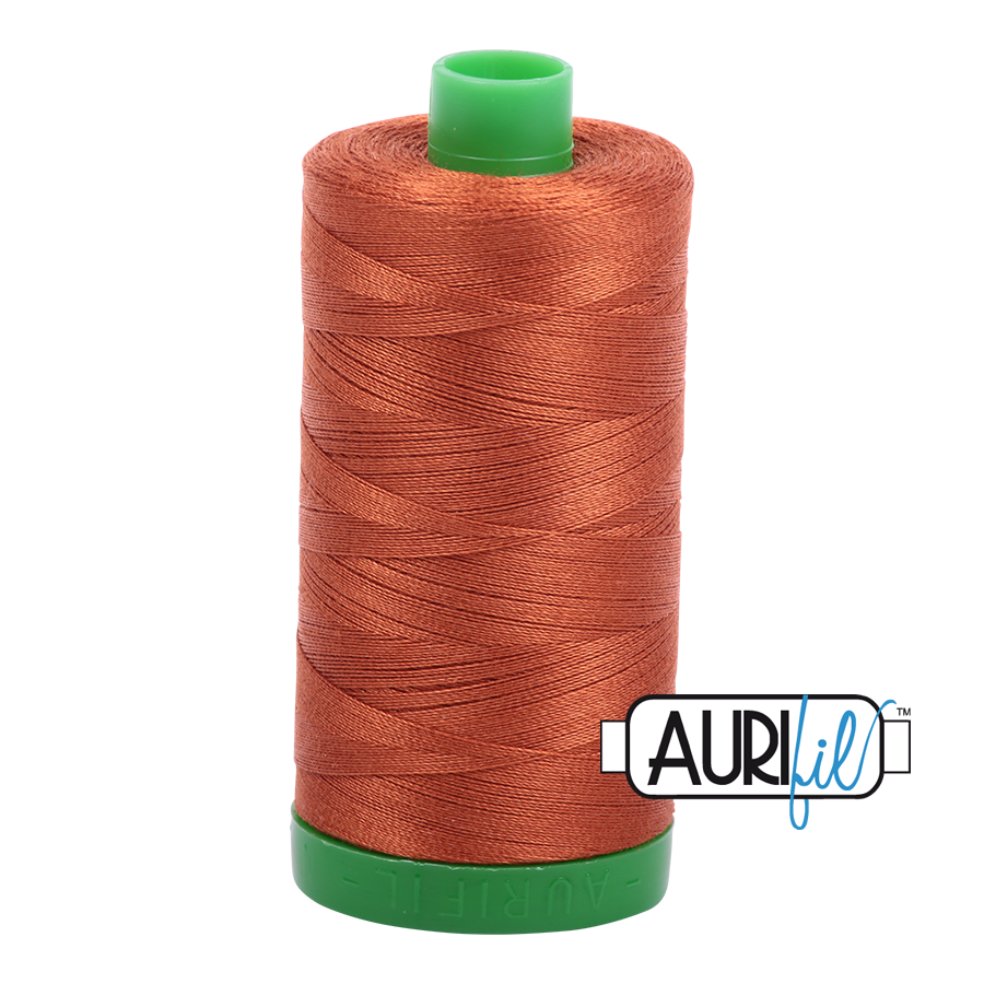 Col. #2390 Cinnamon Toast - Aurifil 40 Weight
