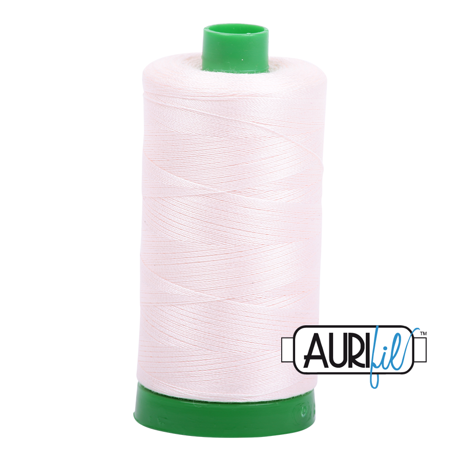 Col. #2405 Oyster - Aurifil 40 Weight