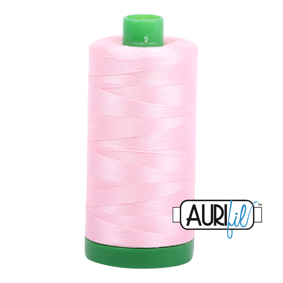 Col. #2423 Baby Pink - Aurifil 40 Weight