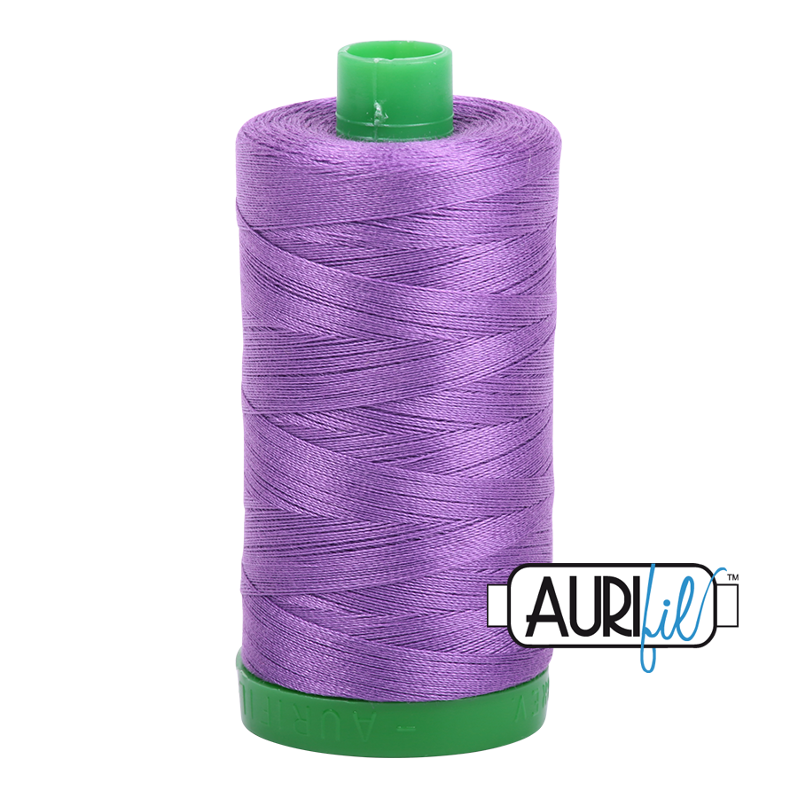 Col. #2540 Medium Lavender - Aurifil 40 Weight