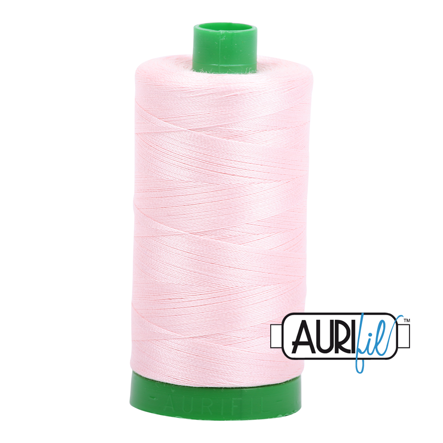 Col. #2410 Pale Pink - Aurifil 40 Weight