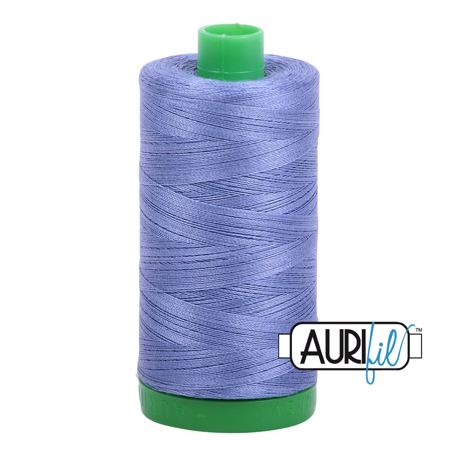 Col. #2525 Dusty Blue Violet - Aurifil 40 Weight