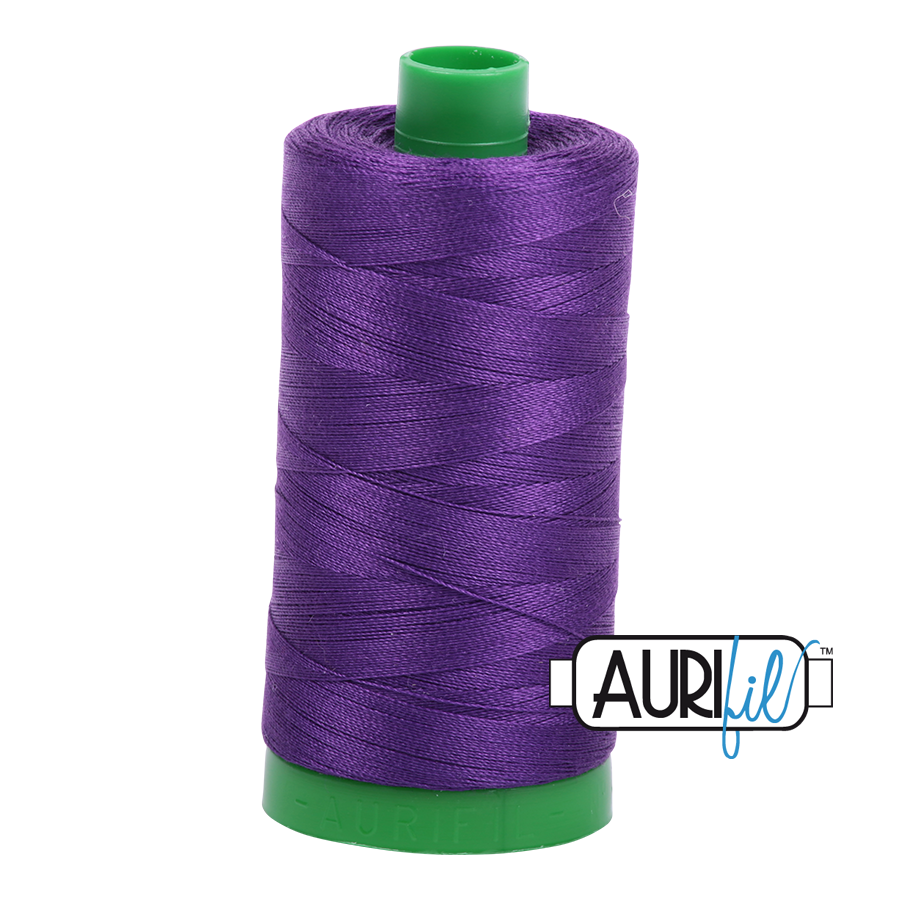 Col. #2545 Medium Purple - Aurifil 40 Weight