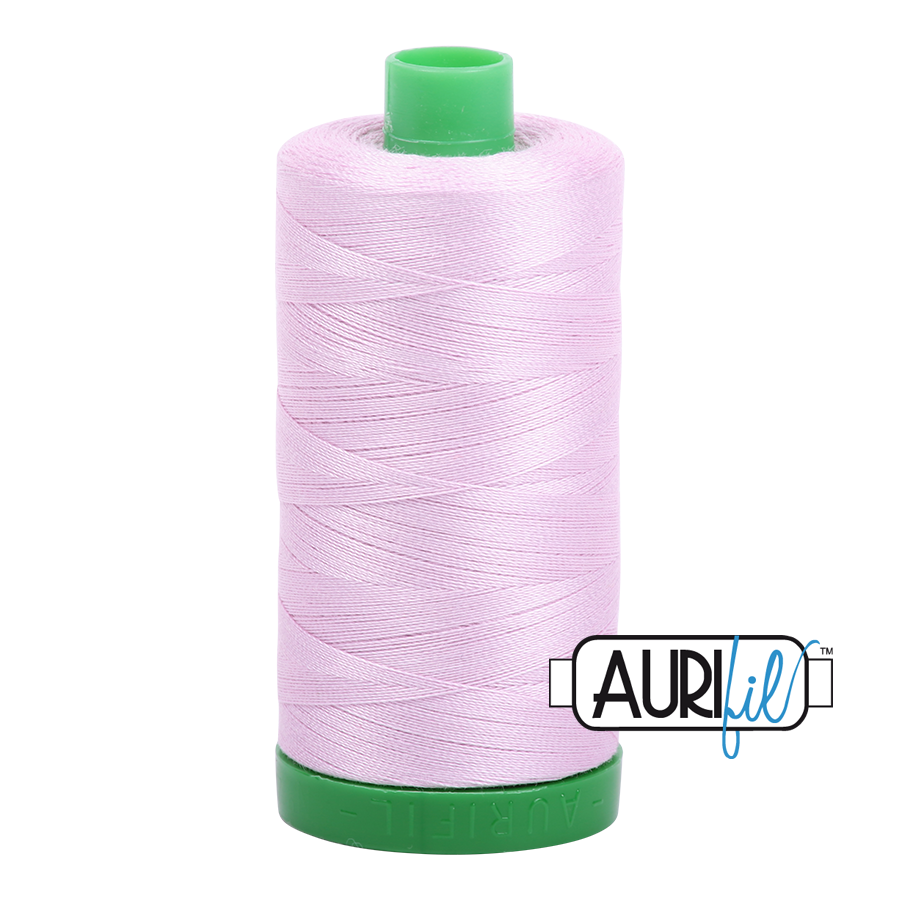 Col. #2510 Light Lilac - Aurifil 40 Weight
