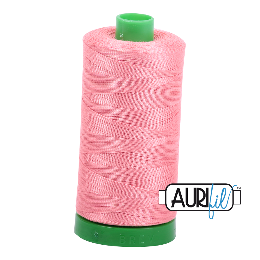 Col. #2435 Peachy Pink - Aurifil 40 Weight