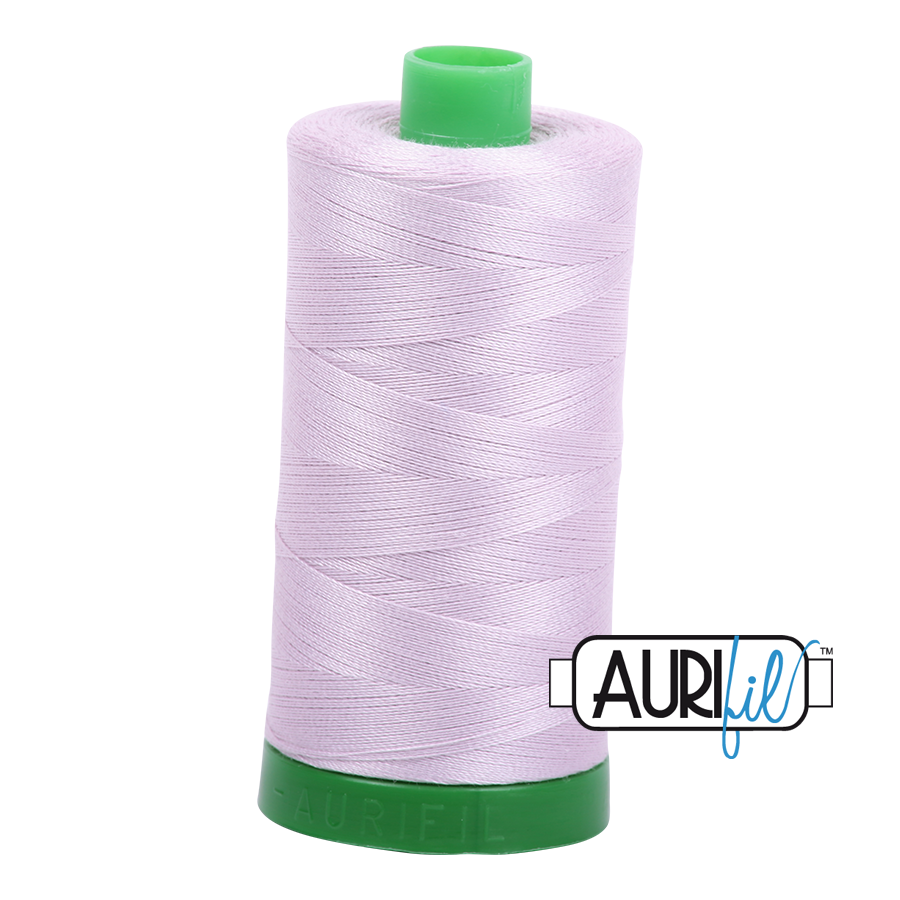 Col. #2564 Pale Lilac - Aurifil 40 Weight