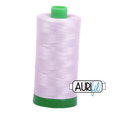 Col. #2564 Pale Lilac - Aurifil 40 Weight