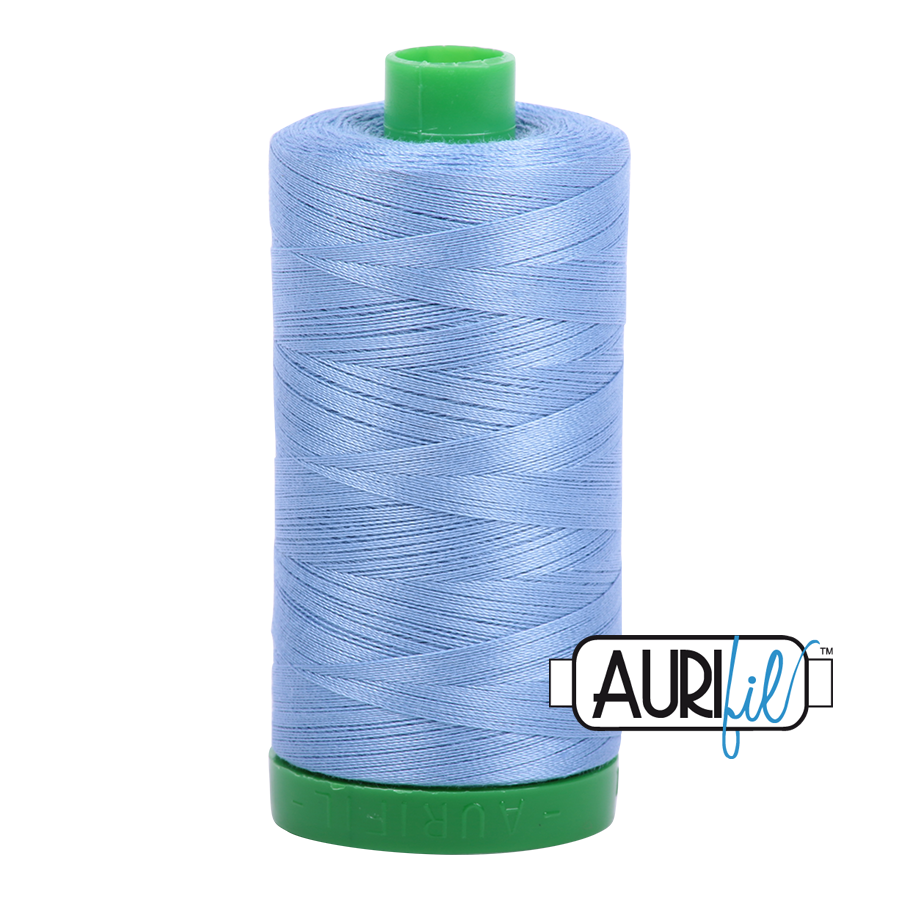 Col. #2720 Light Delft Blue - Aurifil 40 Weight