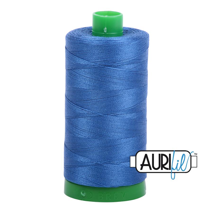 Col. #2730 Delft Blue - Aurifil 40 Weight