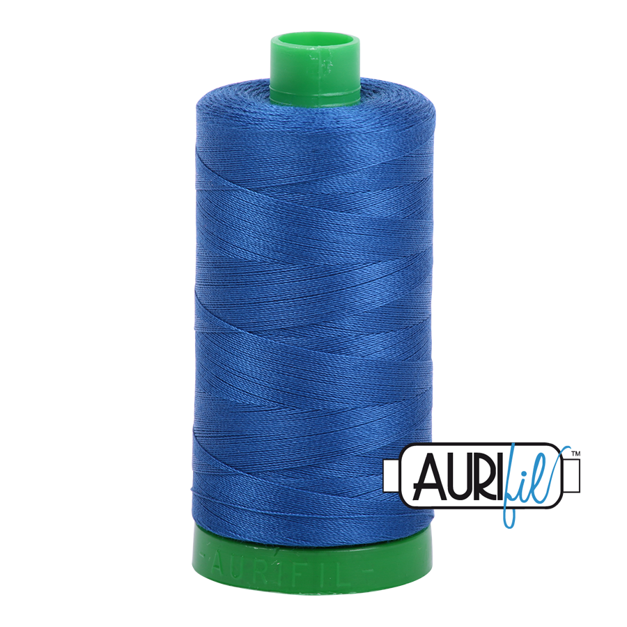 Col. #2740 Dark Cobalt - Aurifil 40 Weight