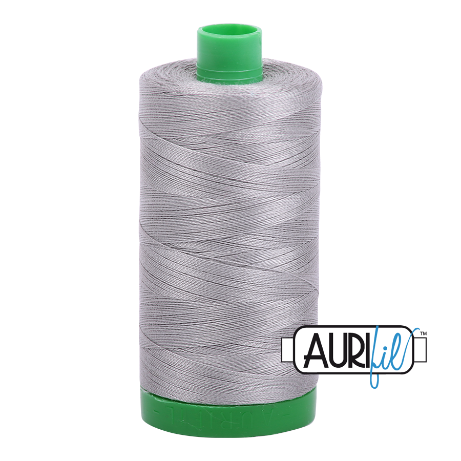 Col. #2620 Stainless Steel - Aurifil 40 Weight