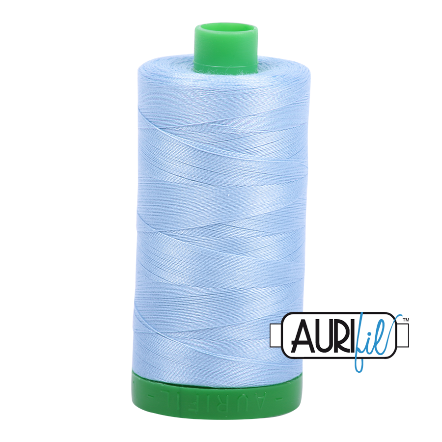 Col. #2715 Robins Egg - Aurifil 40 Weight