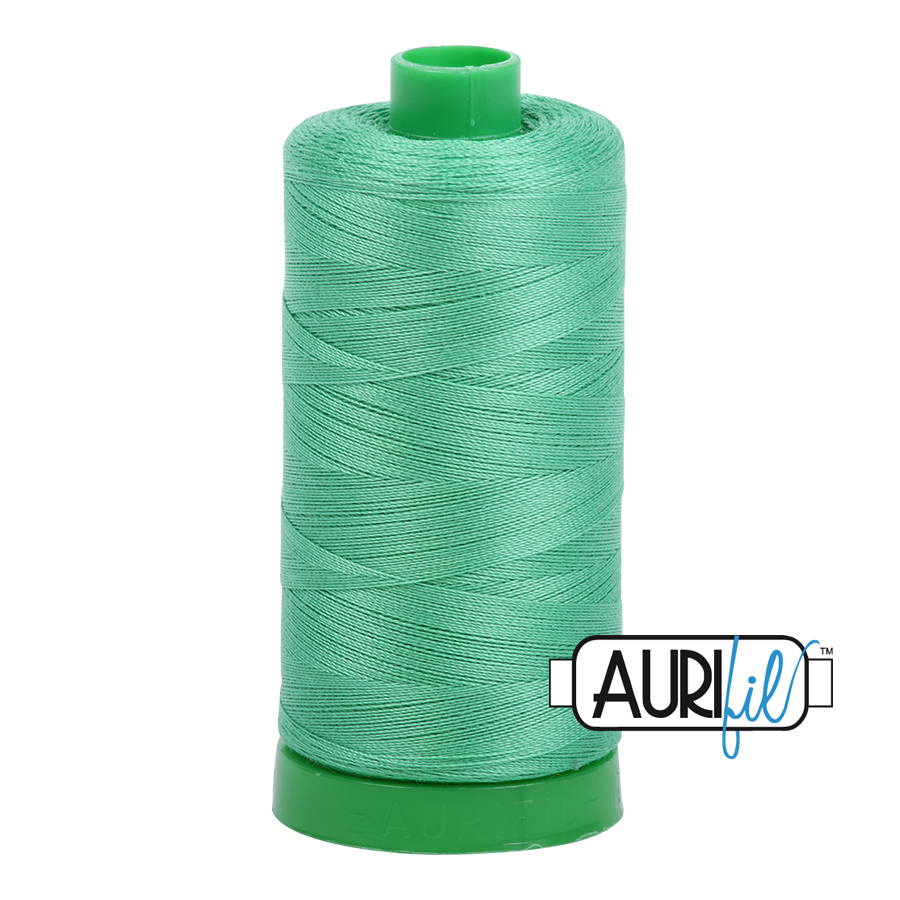 Col. #2860 Light Emerald - Aurifil 40 Weight