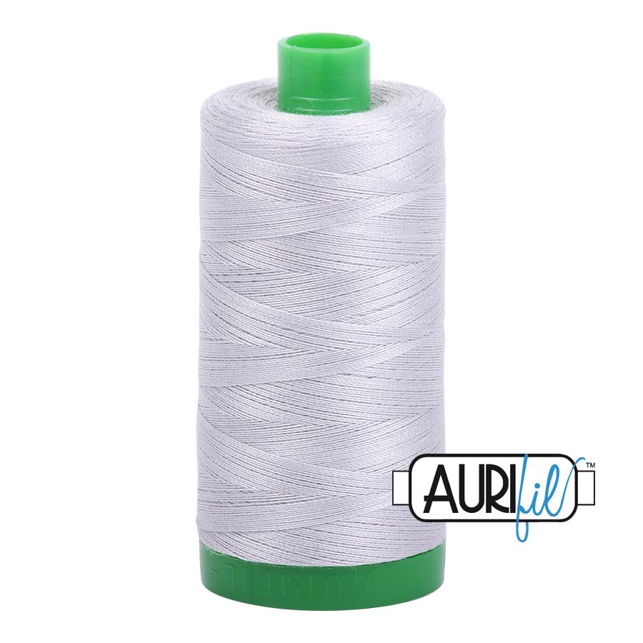 Col. #2615 Aluminum - Aurifil 40 Weight