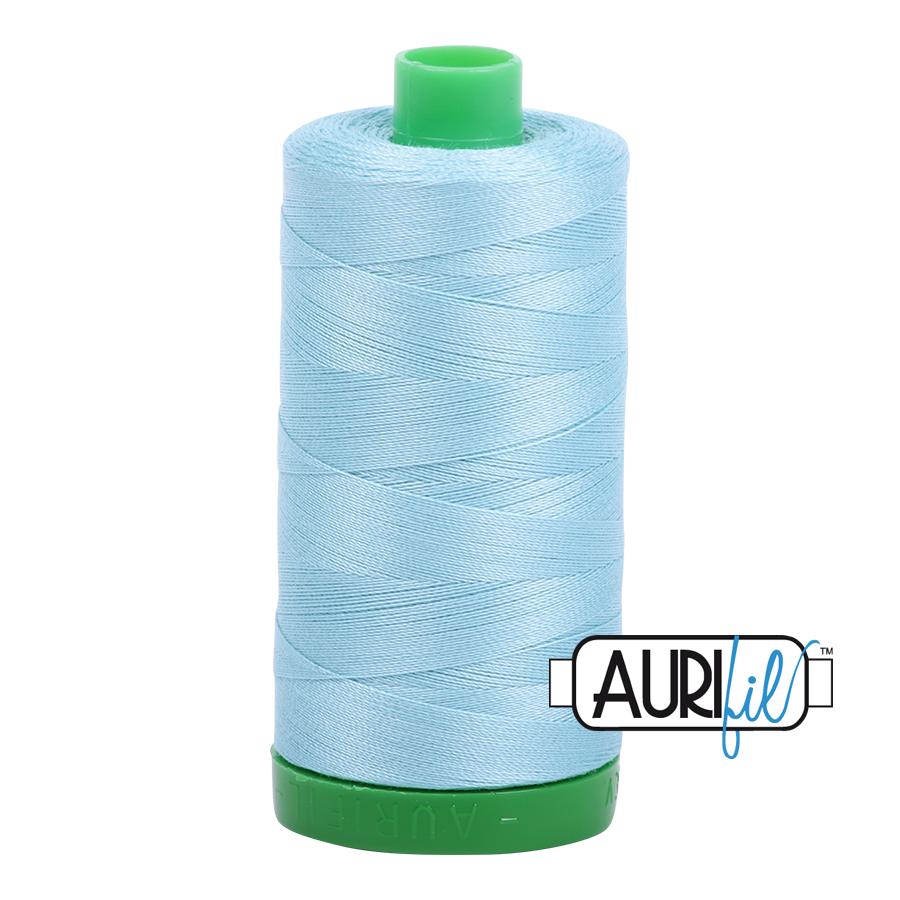 Col. #2805 Light Grey Turquoise - Aurifil 40 Weight