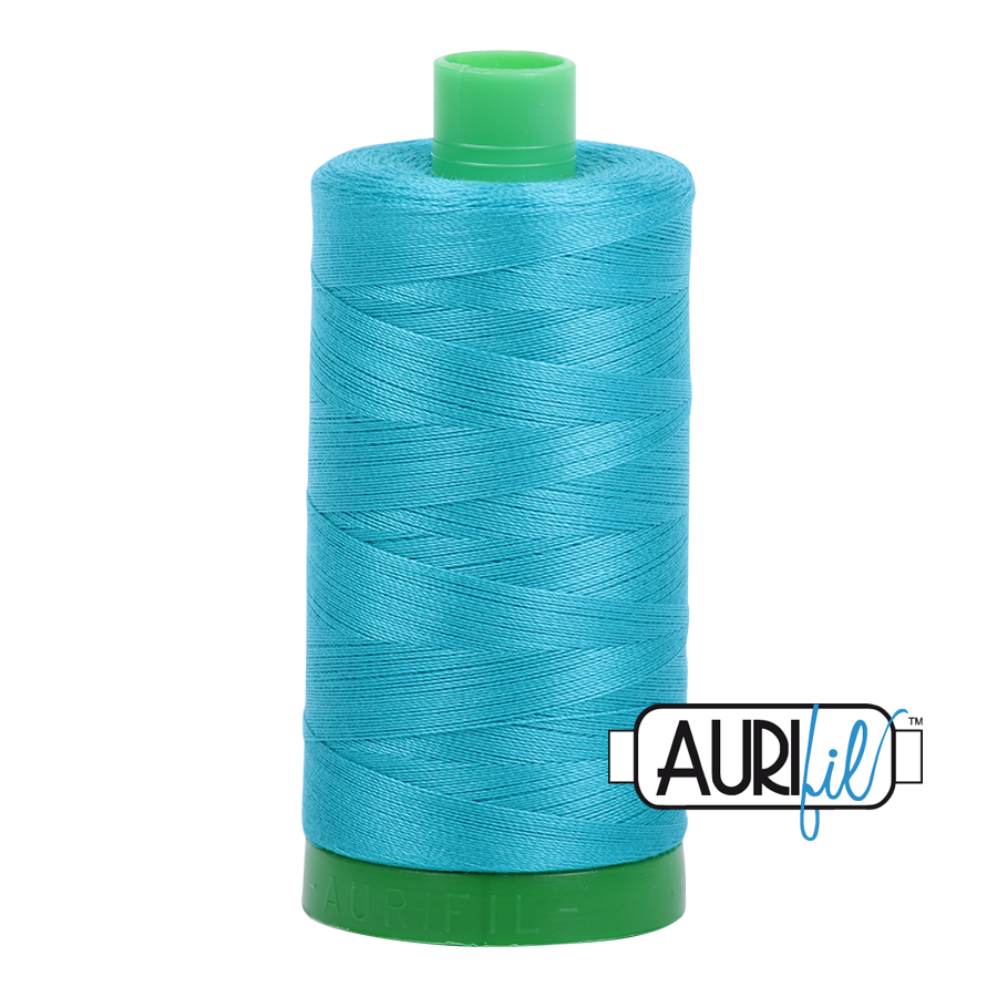 Col. #2810 Turquoise - Aurifil 40 Weight