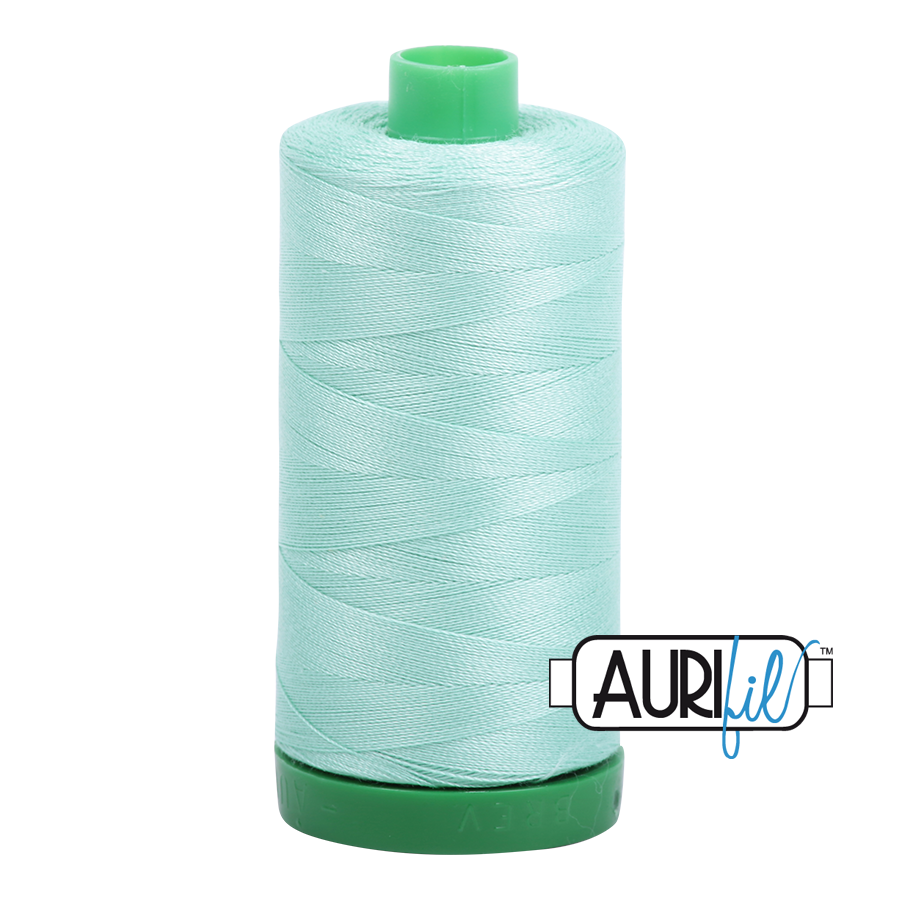 Col. #2835 Medium Mint - Aurifil 40 Weight