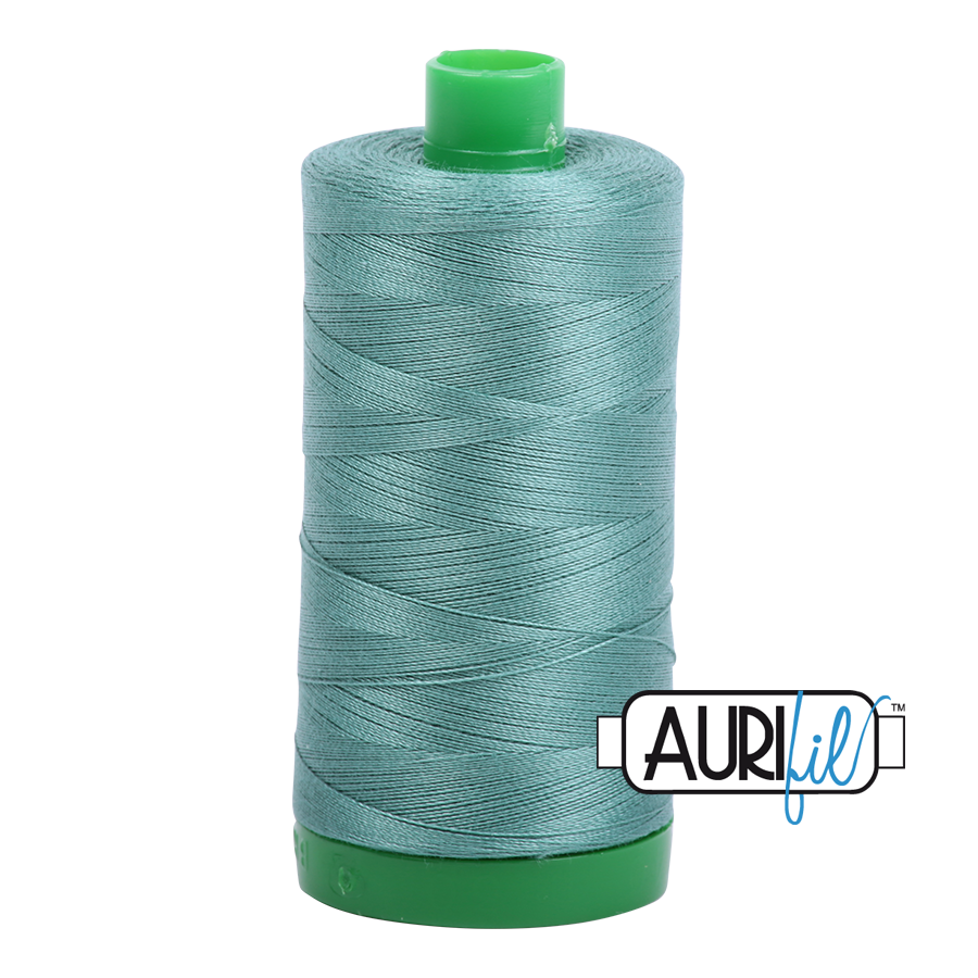 Col. #2850 Medium Juniper - Aurifil 40 Weight