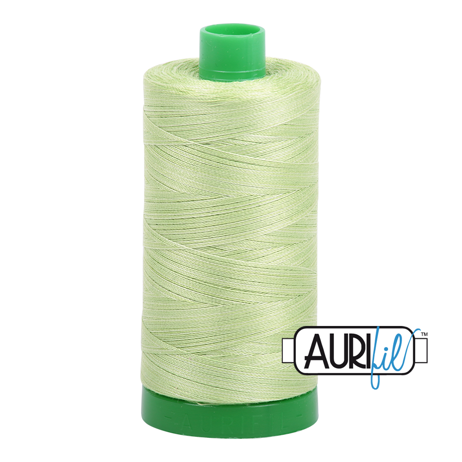 Col. #3320 Light Spring Green - Aurifil 40 Weight