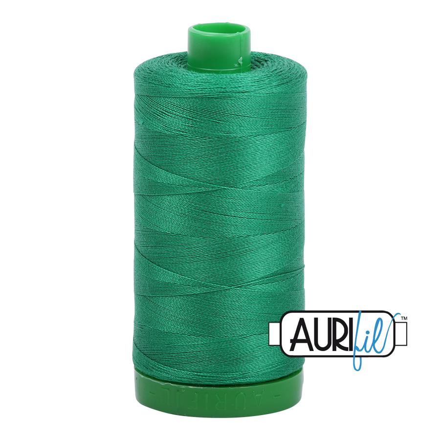 Col. #2870 Green - Aurifil 40 Weight
