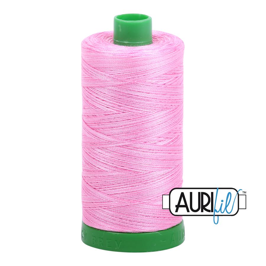 Col. #3660 Bubblegum - Aurifil 40 Weight