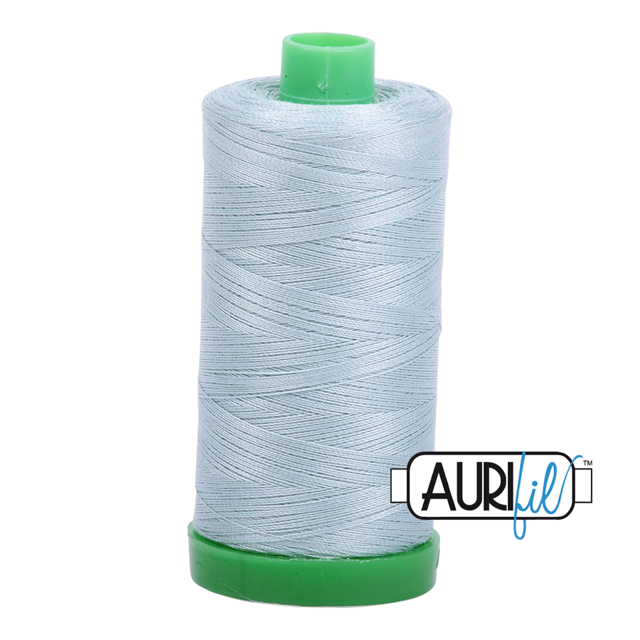 Col. #2847 Bright Grey Blue - Aurifil 40 Weight