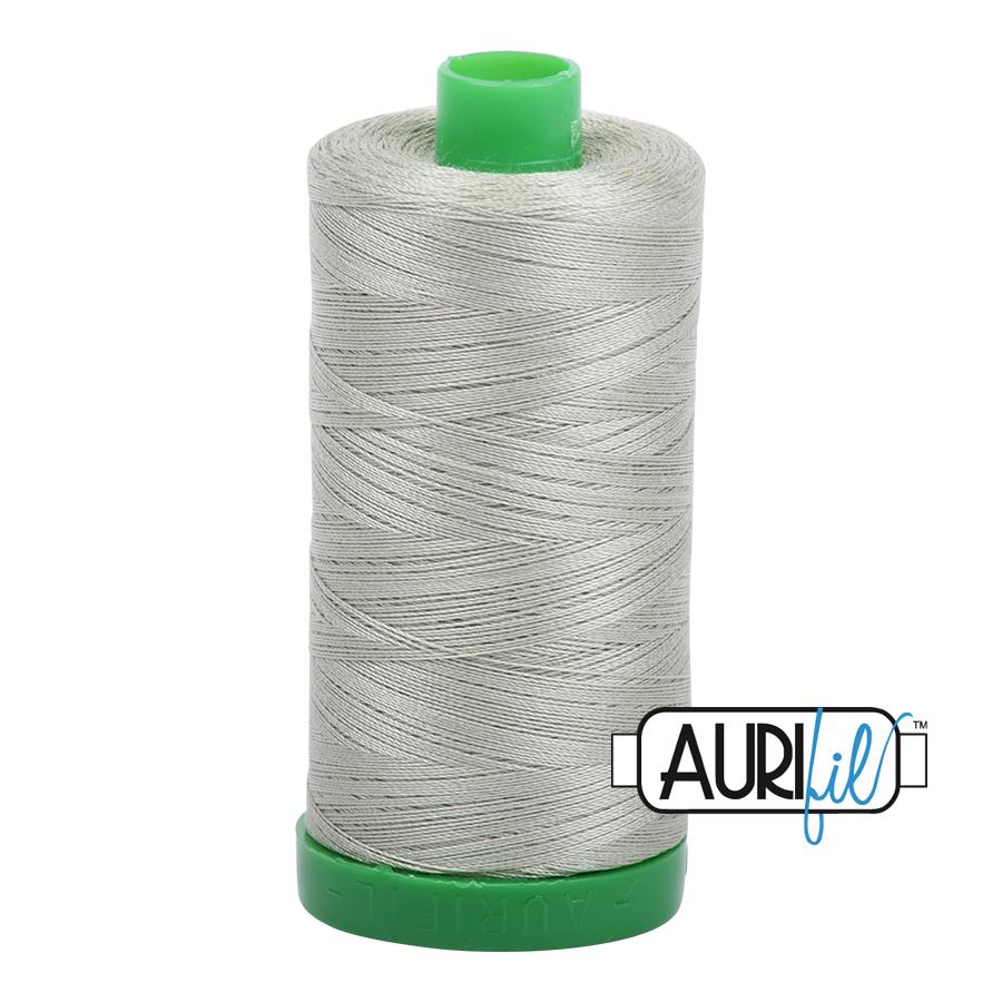 Col. #2902 Light Laurel Green - Aurifil 40 Weight