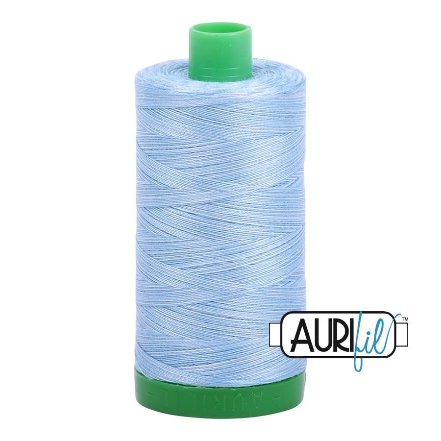 Col. #3770 Stone Washed Denim - Aurifil 40 Weight