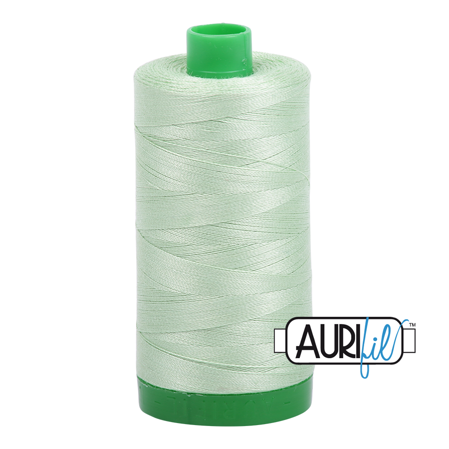 Col. #2880 Pale Green - Aurifil 40 Weight