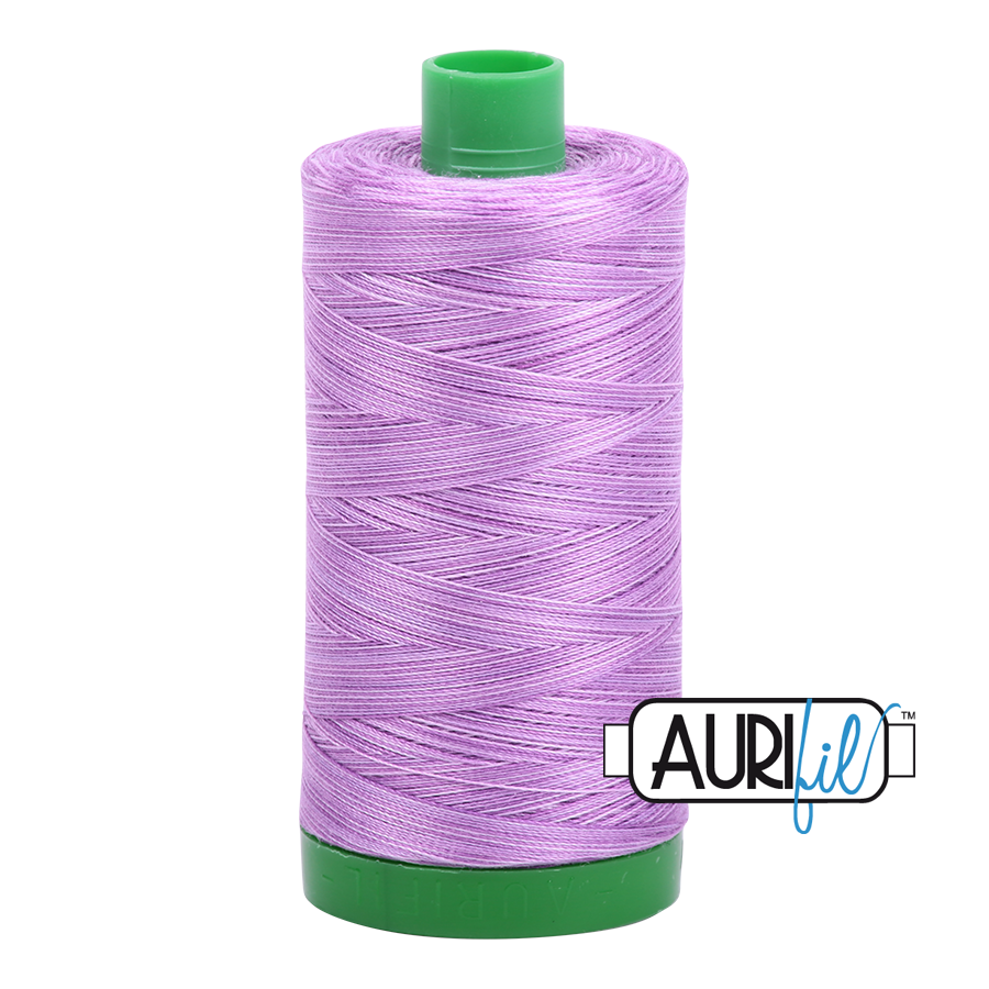 Col. #3840 French Lilac - Aurifil 40 Weight
