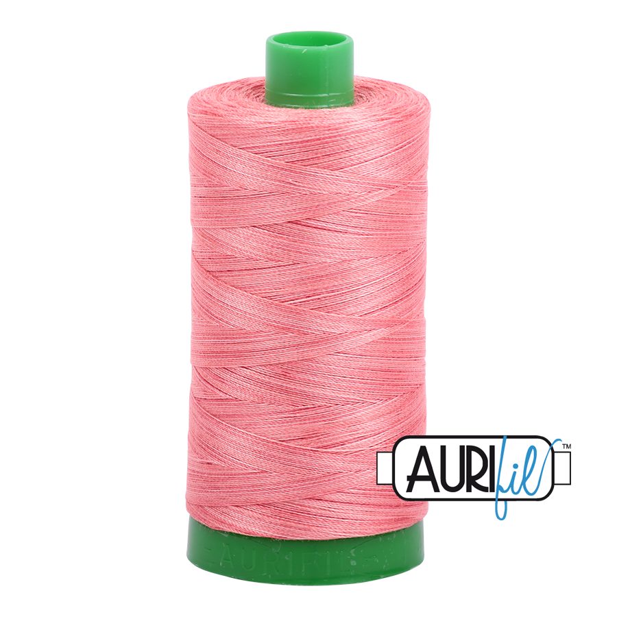 Col. #4250 Flamingo - Aurifil 40 Weight