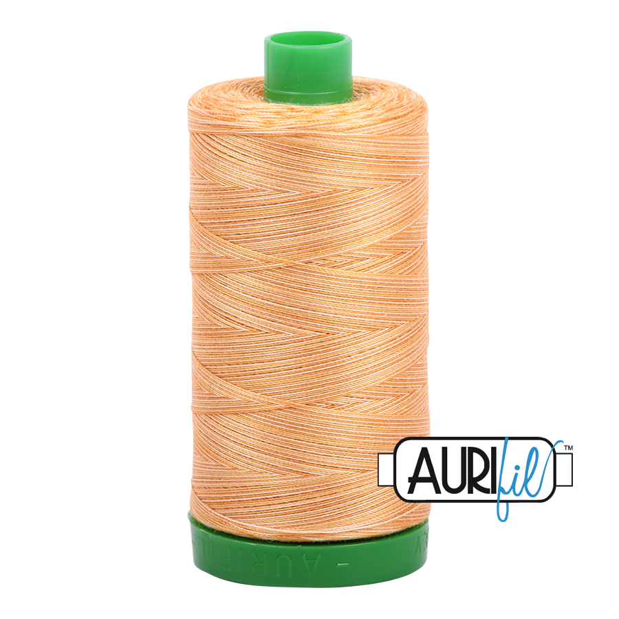 Col. #4150 Creme Brule - Aurifil 40 Weight