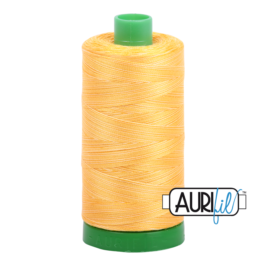 Col. #3920 Golden Glow - Aurifil 40 Weight