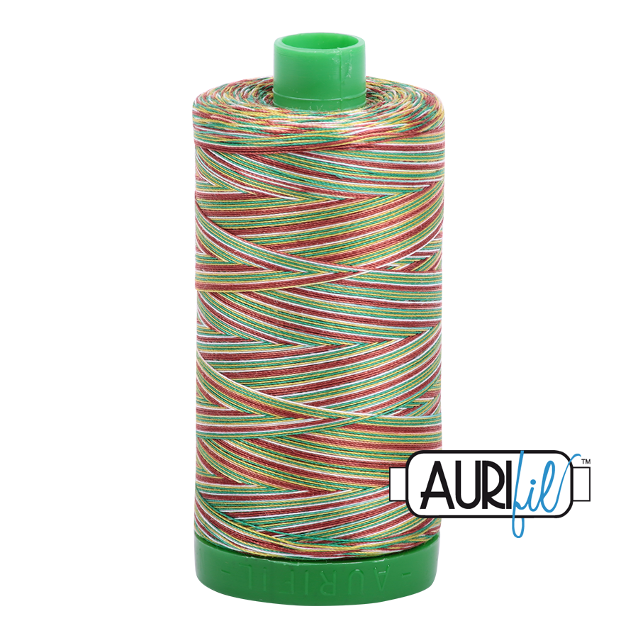 Col. #4650 Leaves - Aurifil 40 Weight