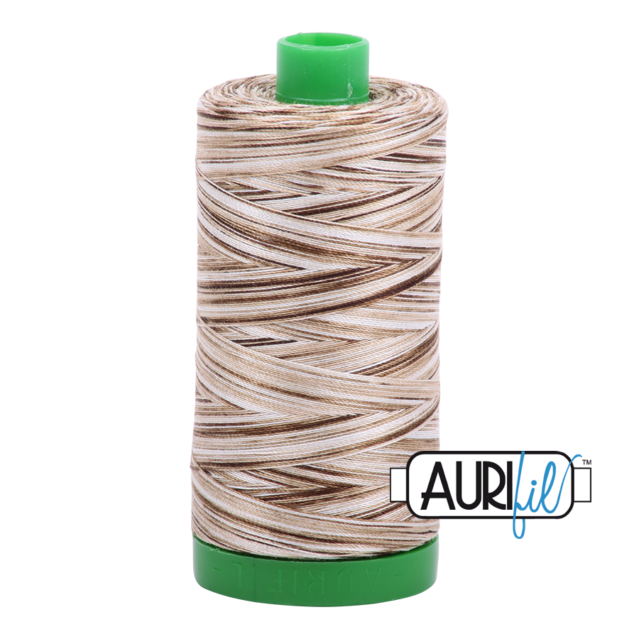 Col. #4667 Nutty Nougat - Aurifil 40 Weight