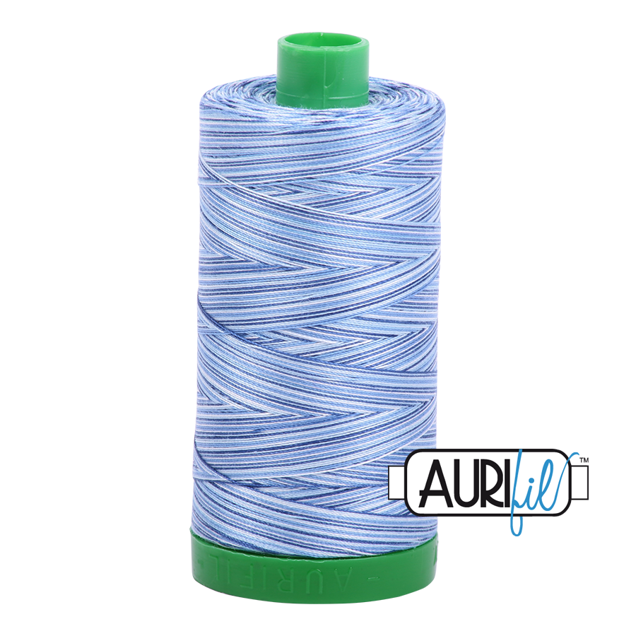 Col. #4655 Storm at Sea - Aurifil 40 Weight