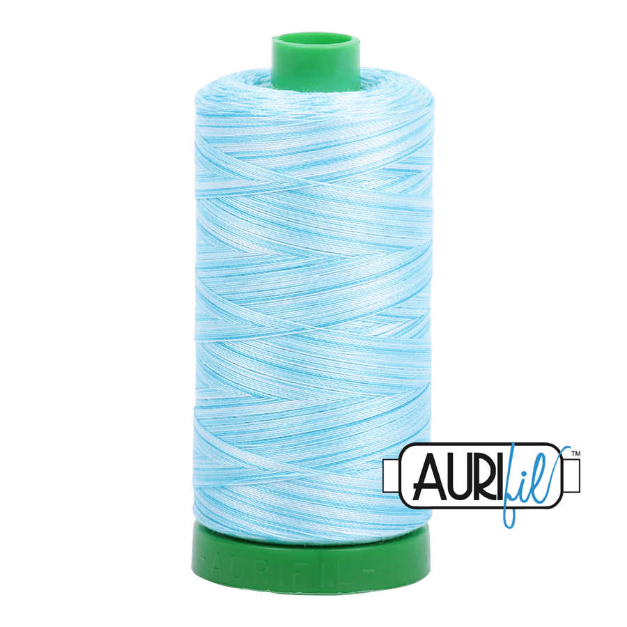 Col. #4663 Baby Blue Eyes - Aurifil 40 Weight
