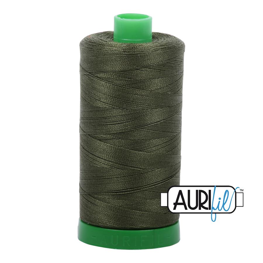 Col. #5023 Medium Green - Aurifil 40 Weight