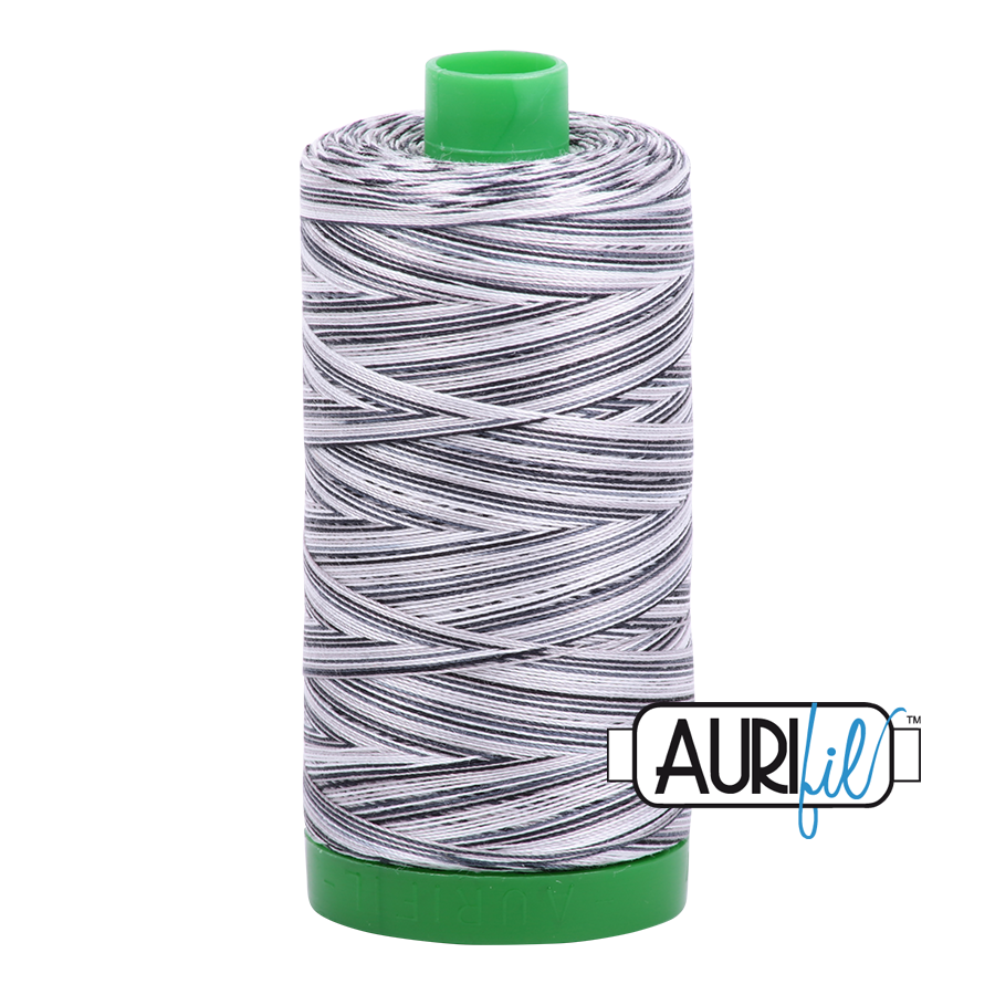 Col. #4652 Licorice Twist - Aurifil 40 Weight