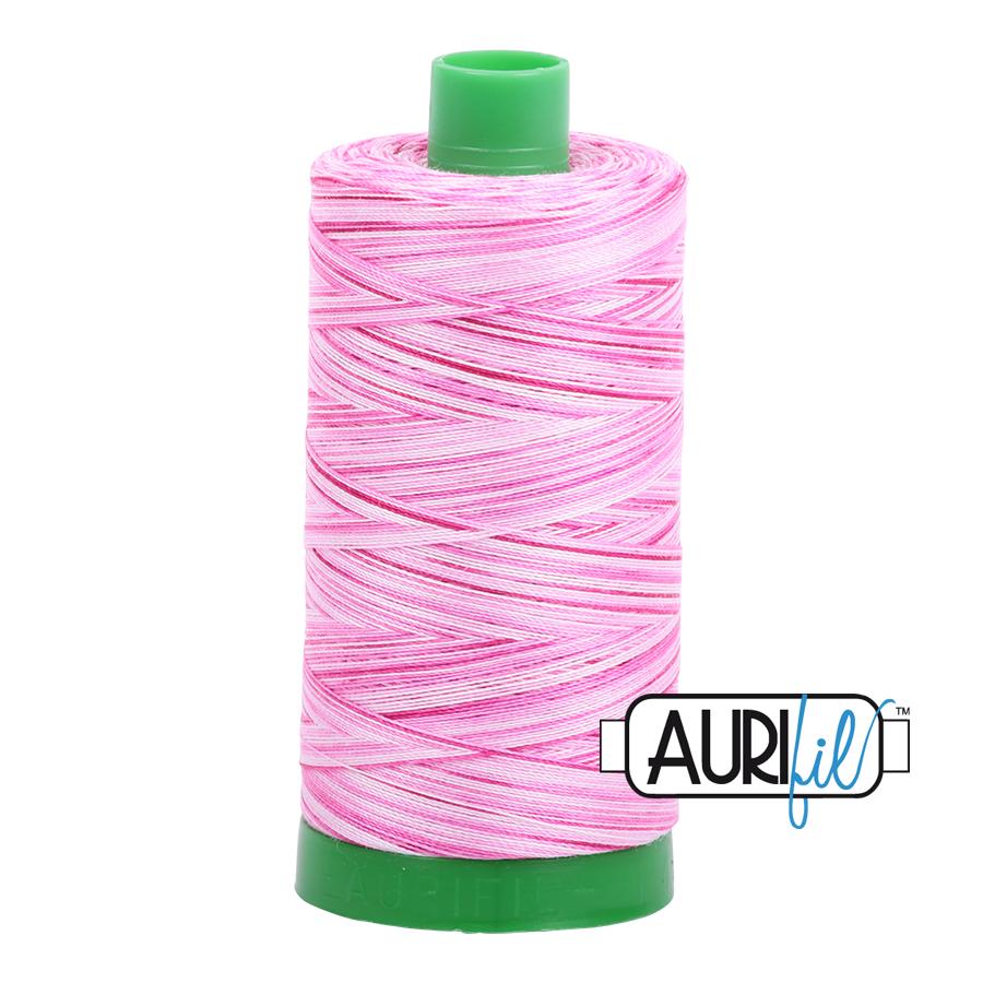 Col. #4660 Pink Taffy - Aurifil 40 Weight