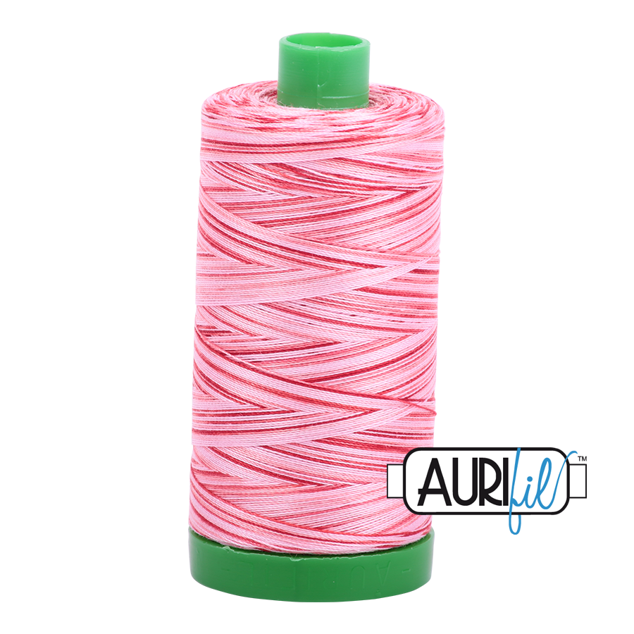 Col. #4668 Strawberry Parfait - Aurifil 40 Weight