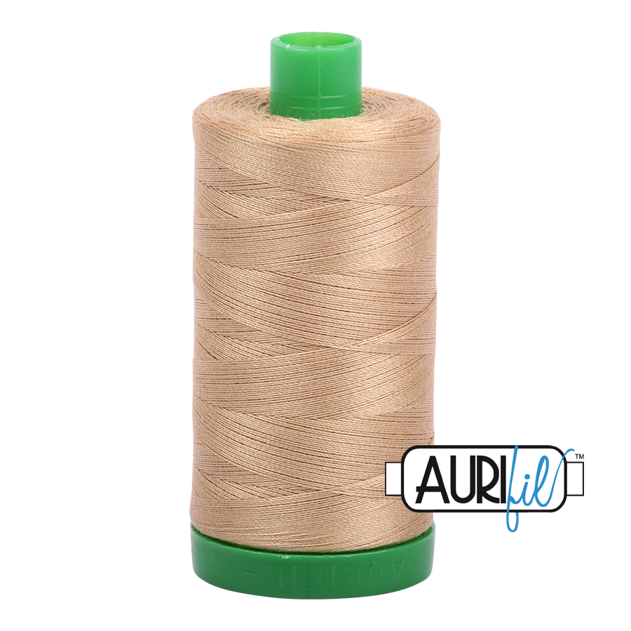 Col. #5010 Blond Beige - Aurifil 40 Weight