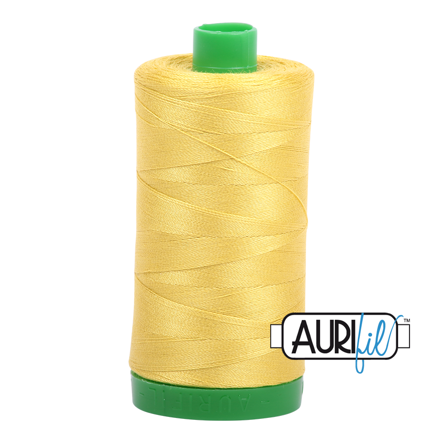 Col. #5015 Gold Yellow - Aurifil 40 Weight