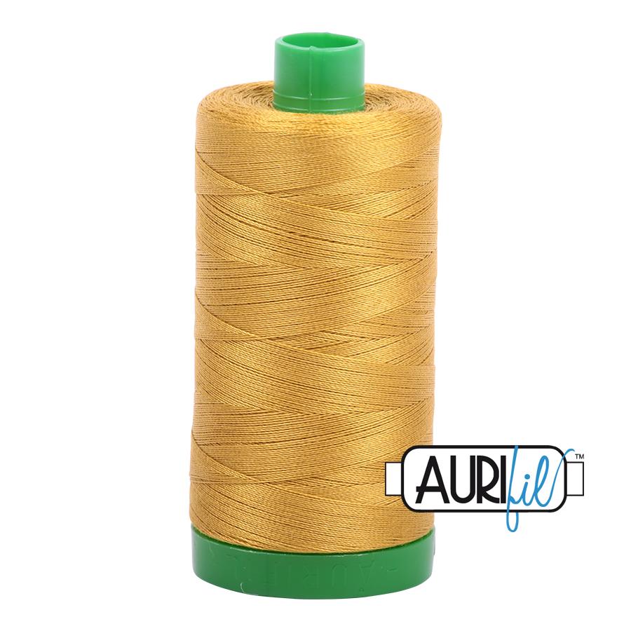 Col. #5022 Mustard - Aurifil 40 Weight