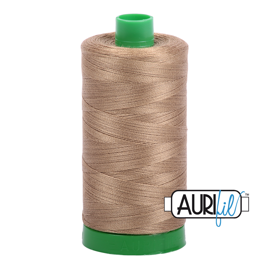 Col. #6010 Toast - Aurifil 40 Weight