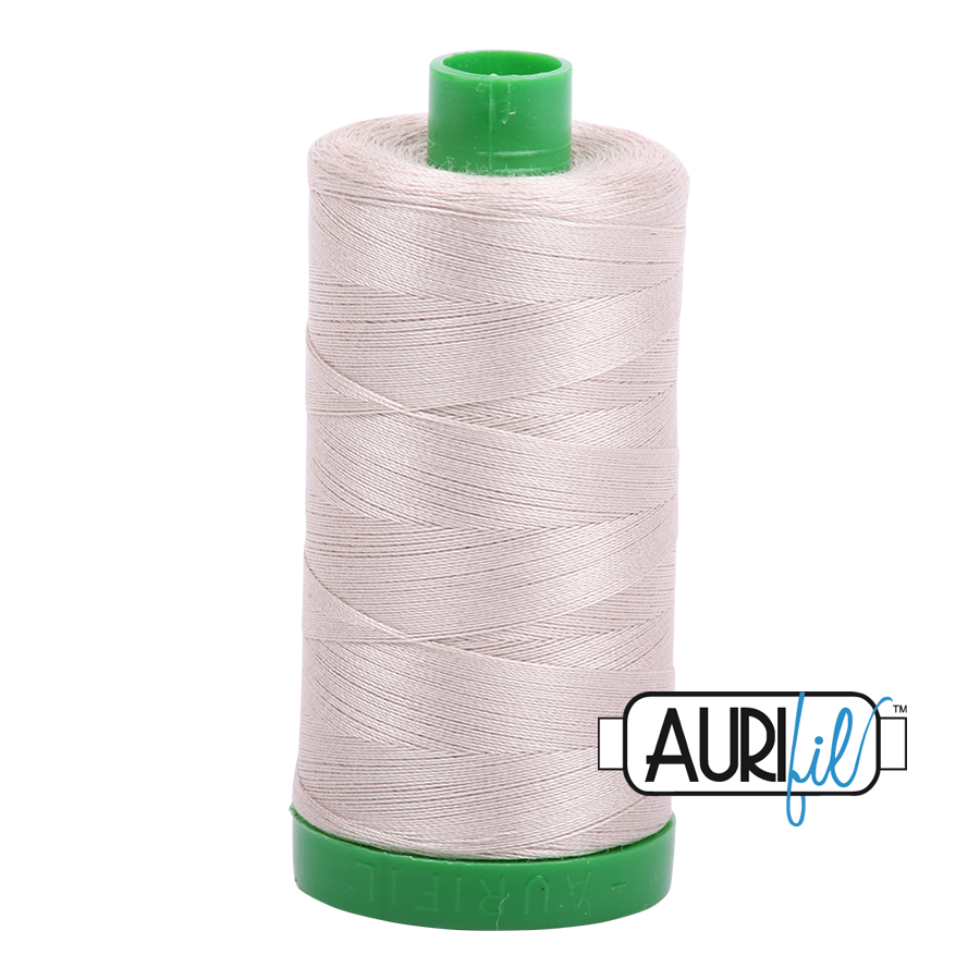 Col. #6711 Pewter - Aurifil 40 Weight