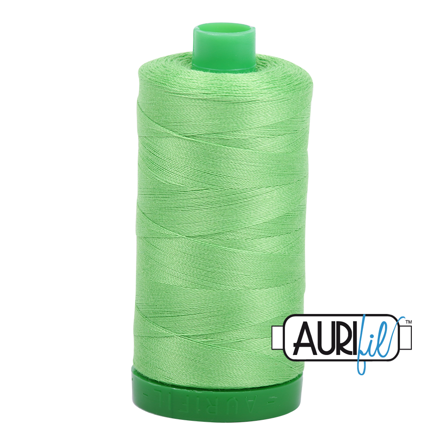 Col. #6737 Shamrock Green - Aurifil 40 Weight