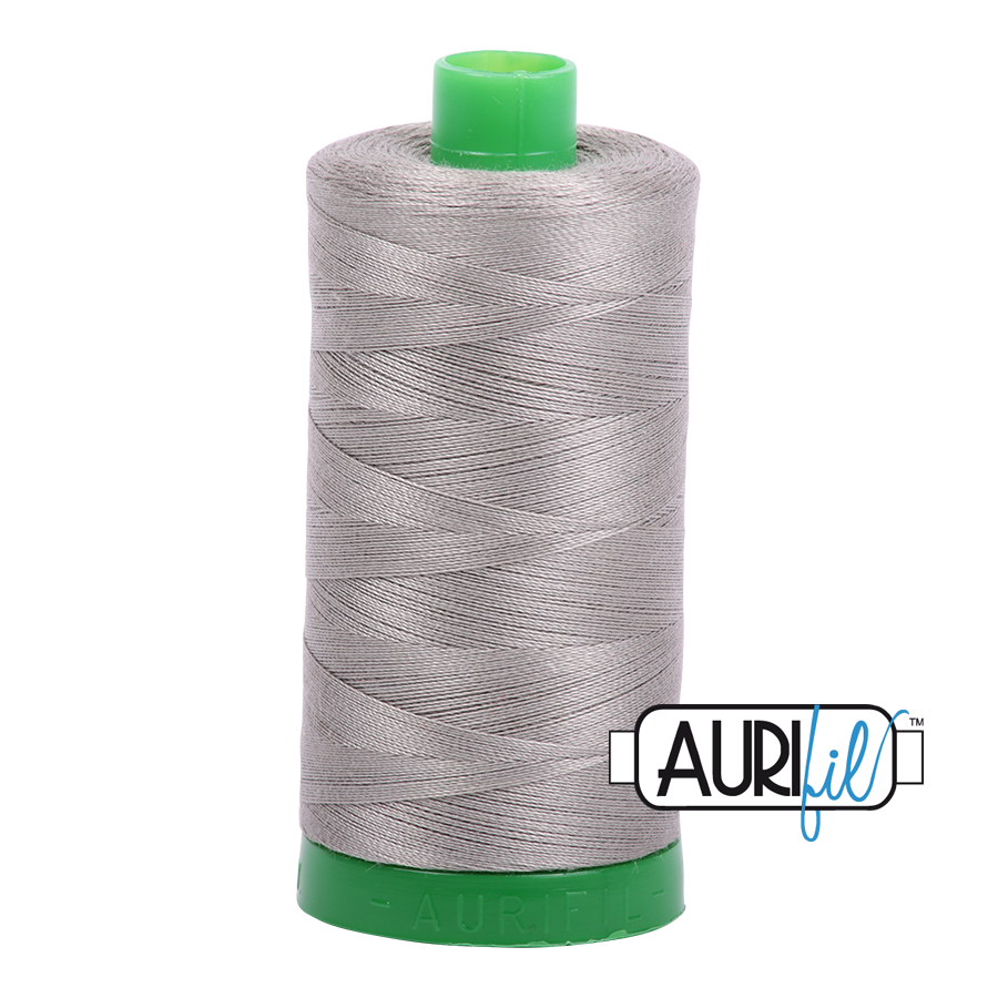 Col. #6732 Earl Gray - Aurifil 40 Weight
